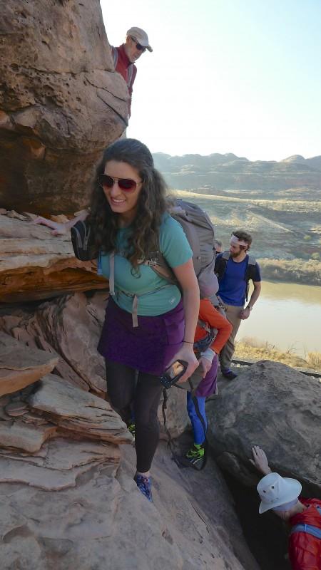 Allison at trail head