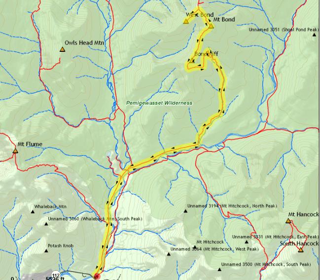 bonds traverse map
